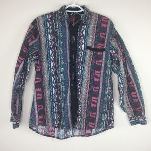 Mine & Bills Outfitters Shirt/Button Western